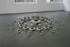 Tommy Stockel - Model for Early Pyramid, 2007. Paper. Ø: 300 cm.