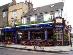 The Dove pub on Broadway #Market in London. Cute little place with great atmosphere and good food.