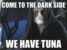 Come to the dark side ...
