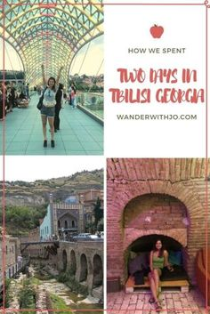 How to spend two days in Tbilisi, Georgia.  Read about fun and unique things to do in Tbilisi if you only have two days free in your itinerary.  #georgia #travelguides