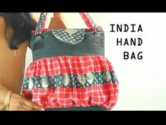 Jeans Bag - India, How to make a jeans bag / Part 3