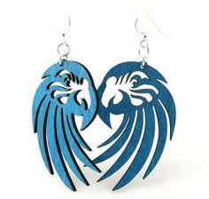 Macaw Earrings # 1063