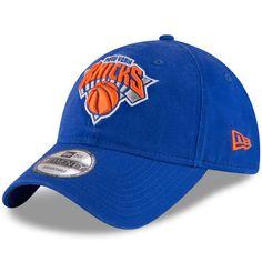 bdae11e1aad9 New York Knicks New Era Official Team Color 9TWENTY Adjustable Hat - Blue