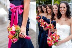 Bridesmaid Coral Gerbera | Gerber Daisy Bouquets – Destination Weddings | Best Destination