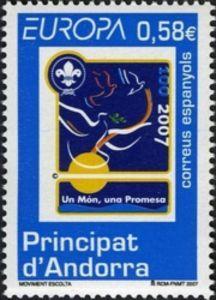 Peace doves, Scout emblem