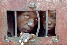 The Prison of Genocide, Rwanda 1995 - Photo by Greg Marinovich Great Photographers, Photojournalism, Continents, Filmmaking, Prison, Habitats, Street Photography, The Darkest, Scary