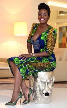 Latest latest african fashion look . African Inspired Fashion, African Print Fashion, Africa Fashion, Fashion Prints, Men's Fashion, African Dresses For Women, African Wear, African Attire, African Women