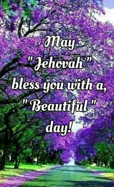 May Jehovah bless us all! www.jw.org