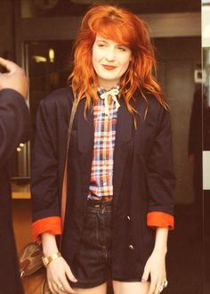 I love your look, Florence. and hair