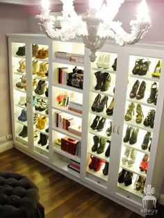 Options for walk in closet / shoe closet Master Closet, Closet Bedroom, Walk In Closet, Shoe Closet, Shoe Room, Closet Space, Shoe Wardrobe, Wardrobe Ideas, Glam Closet