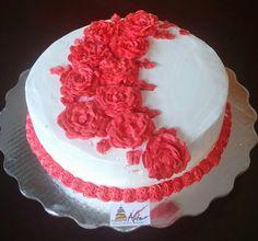Pastel de rosas!!