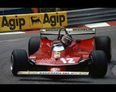 27 May 1979. Monaco / Gilles Villeneuve (Ferrari 312T4)