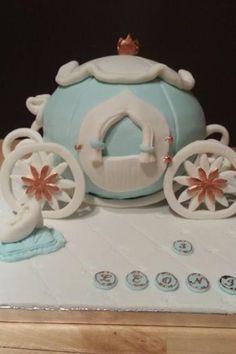 Gâteau princesse et son carosse