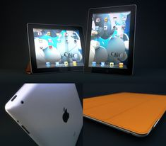 Free Ipad model from Andy Dawson. More about him at http://www.andypdawson.com/. Check out his great demo reel too... #C4D, #Cinema4D, #C4D