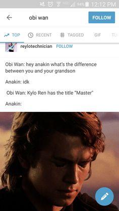 Star wars ben solo anakin
