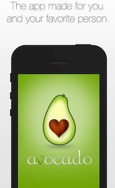 Best Apps for Long Distance Relationships via allwomenstalk.com - The Avocado app is really a great one!