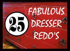 West Furniture Revival: 25 Dresser Redo's