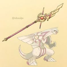 Pokemon weapon Palkia