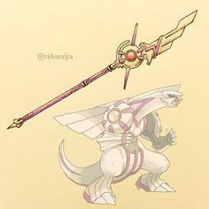 Pokemon weapon Palkia