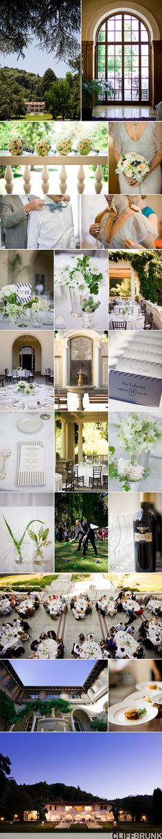 Great Gatsby inspired wedding...love the stripes