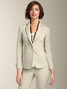 Talbots - Talbots Kate Fit Double-Weave Jacket | Suits | Apparel
