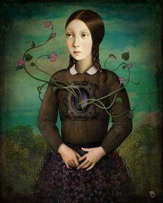 Christian Schloe ~ Chilean Surrealistic Visionary painter
