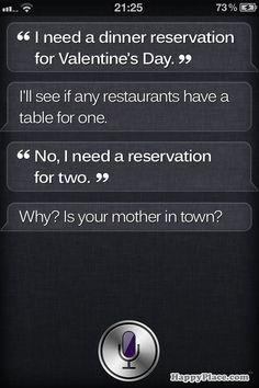 Siri... so smart ;)