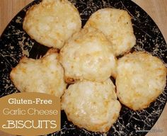 Gluten-Free Homemade Red Lobster Garlic Cheese Biscuits. Hot out of the oven, these biscuits are fabulous! One reader even uses the recipe to make pizza crust! [from GlutenFreeEasily.com] via @shirleygfe