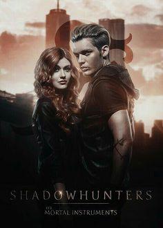 Imagine shadowhunters, jace, and dominic sherwood