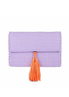 Lilac Hanan Clutch Lilac, Pink, New Beginnings, Ethical Fashion, Bag Making, Color Pop, Hand Weaving, Artisan, Textiles