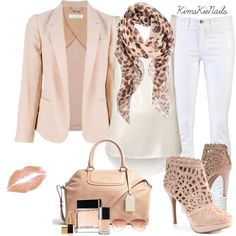 A fashion look from February 2013 featuring metallic tank top, tall jackets and denim skinny jeans. Browse and shop related looks. Stylish Outfits, Cool Outfits, Fashion Outfits, Womens Fashion, Stylish Clothes, Elegant Outfit, Beige, Fashion Boutique, Autumn Winter Fashion
