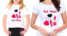 Kit 2 Camisetas - Tal Mãe Tal Filha
