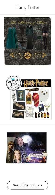 """""""Harry Potter"""" by summersurf2014 ❤ liked on Polyvore featuring harrypotter, hogwarts, Inspired, jkrowling, wizardingWorld, Coast, Michael Antonio, Lalù, Rock Rebel and A.S.P"""