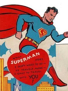 Außergewöhnlich Superman Valentine