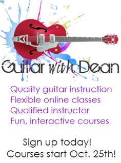 Free Online Kids Guitar Lessons | Guitar with Dean! Amazing teacher with great reviews!