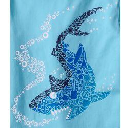 Shark, mosaic idea