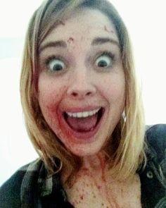 Alexandra Breckenridge filming S6.2 'JSS'