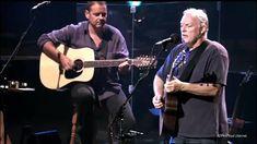 Meltdown Concert 2002 David Gilmour: Guitars, vocals Neill MacColl: Guitars, backing vocals Michael Kamen: Piano, English horn Chucho Merchán: Double bass Ca. Guitar Chords For Songs, Acoustic Guitar Lessons, Music Guitar, Music Songs, Music Videos, Wonderwall Guitar Chords, Robert Wyatt, English Horn, Pink Floyd Music