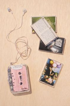 Clear Cassette Player (really just need a cool cassette player)...LEAH!