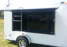 """new tailgate trailer. prefect for tailgating at titans, vandy or ut 2015 6x12 vnose 4x8 shadow box will hold upto a 70"""" tv 30 amp electrical system coax cable hookup side door alumnium radial wheels and tires  we can dress this trailer out for you or you can do it yourself.  615-483-7397  $4595"""
