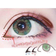 Anime Eye Makeup, Anime Eyes, Cosplay Diy, Cosplay Makeup, Makeup Tips, Beauty Makeup, Hair Makeup, Eye Contact Lenses, Beautiful Lips