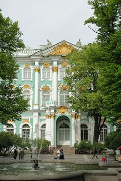 The Winter Palace, St Petersburg, Russia * Thanks for showing the beauty of Russia, and world peace with her peoples *