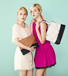 Las hermanas Dakota y Elle Fanning