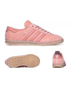 promo code 1db42 67883 Womens Adidas Originals Hamburg Raw Pink Trainer Mens Trainers, Nike  Trainers, Adidas Zx Flux