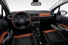 Citroen C3 2016 - interior brown