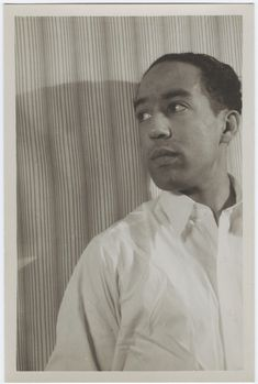 Langston Hughes (March 27, 1932)  Photo by Carl Van Vechten