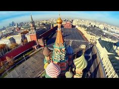 Beautiful Moscow city FPV aerial flights/ Москва с вертолета/ Part 2 - YouTube
