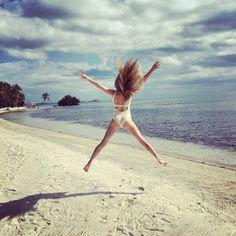 Fashion Beauty Express: 夏だ!水着だ! セレブイチオシ ビーチスタイル