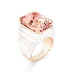 Boucheron Vendome chromatique morganite ring