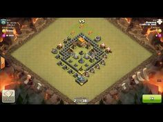 Clash of Clans TH5 vs TH5 Giant, Archer & Healer Clan War 3 Star Attack ⋆ Clash of Clans 3 Stars Clan Wars